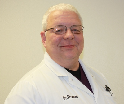 R. David Freeman, DMD, is the Chief Dentist in the Dental Department. Menominee Tribal Clinic, Wisconsin